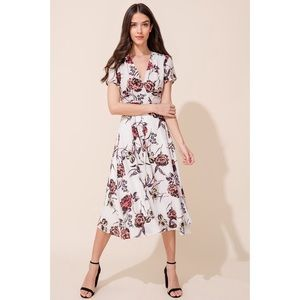 Yumi Kim Wrap Midi Dress
